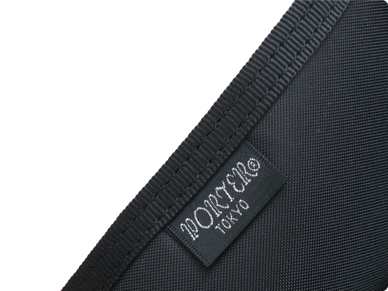 MARGARET HOWELL x PORTER CORDURA CANVAS A4 SIZE POUCH