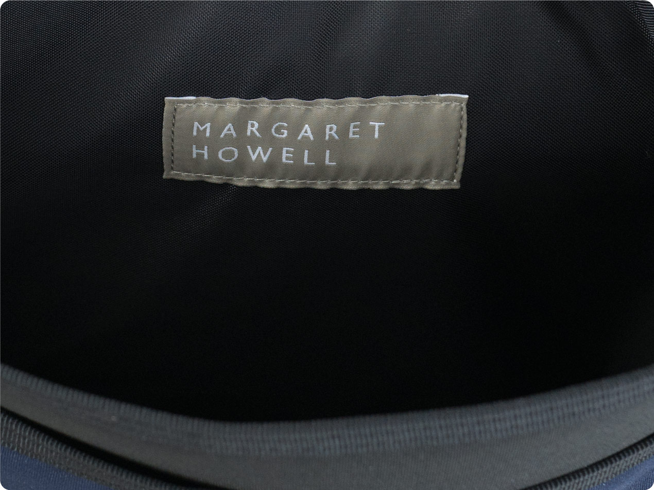 MARGARET HOWELL x PORTER CORDURA CANVAS A4 SIZE POUCH