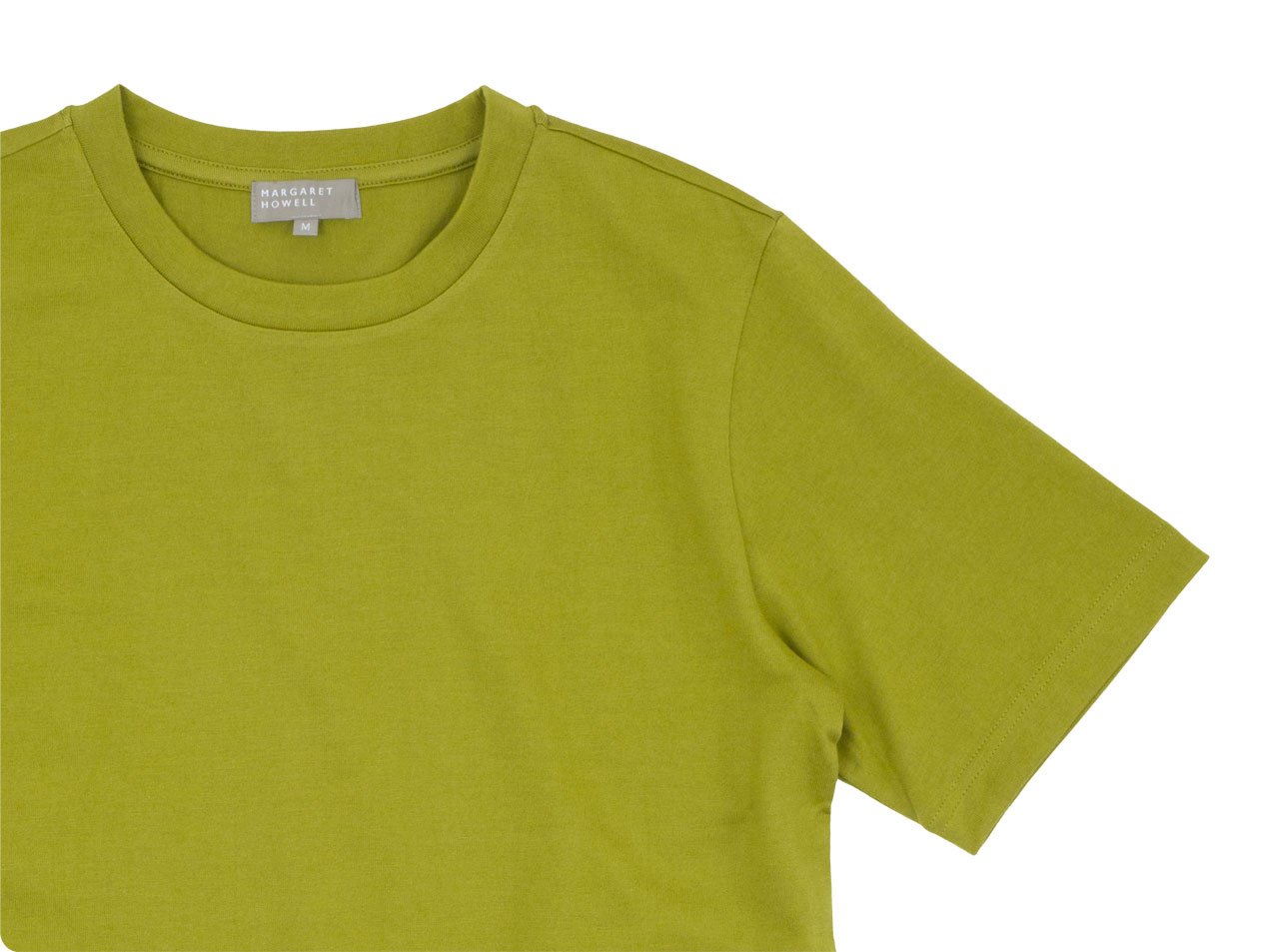 MARGARET HOWELL SUVIN COTTON JERSEY T-SHIRTS