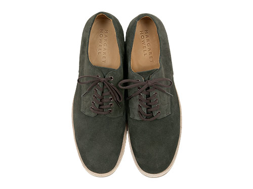 MARGARET HOWELL SUEDE DERBY SHOES
