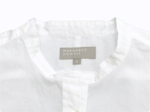 MARGARET HOWELL CHINTZ COTTON P/O SHIRTS