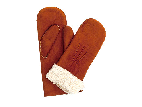 MARGARET HOWELL SHEEPSKIN MITTEN