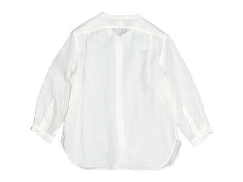 MARGARET HOWELL FINE LINEN NO COLLAR SHIRTS