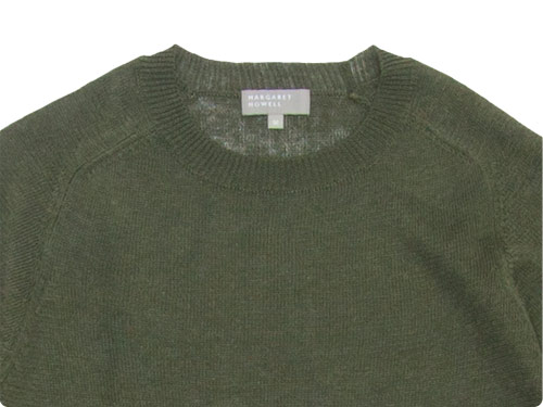 MARGARET HOWELL MELANGE LINEN KNIT