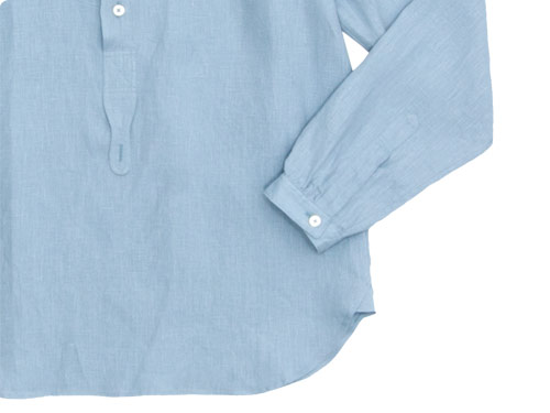 MARGARET HOWELL SHIRTING LINEN NO COLLAR P/O SHIRTS