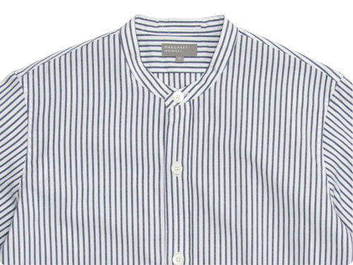 MARGARET HOWELL SUMMER OXFORD CANDY STRIPE SHIRTS