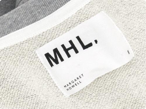 MHL. LIGHT LOOPBACK COTTON CREW NECK