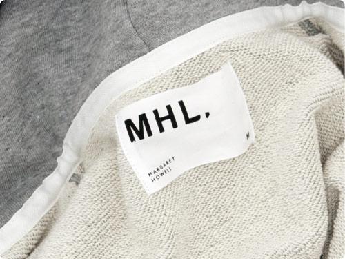 MHL. LIGHT LOOPBACK COTTON HOODED PARKA