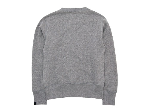 MHL. LIGHT LOOPBACK COTTON CREW NECK