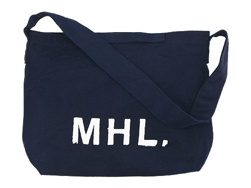 MHL. HEAVY CANVAS SHOULDER BAG / TOTE BAG