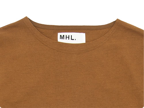 MHL. DRY COTTON JERSEY L/S T-SHIRTS