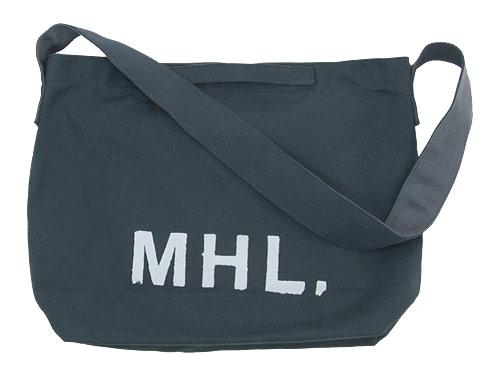 MHL. HEAVY CANVAS SHOULDER BAG