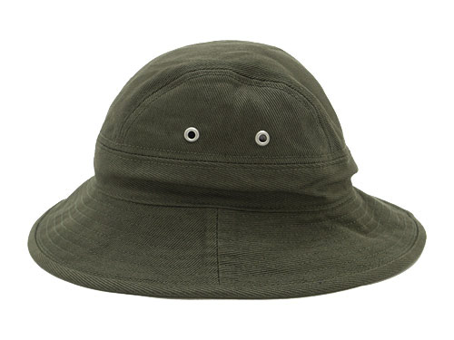 MHL. RAISED COTTON DRILL HAT