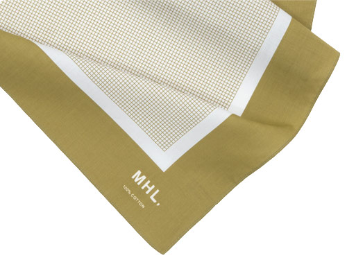 MHL. TINY CHECK SCARF