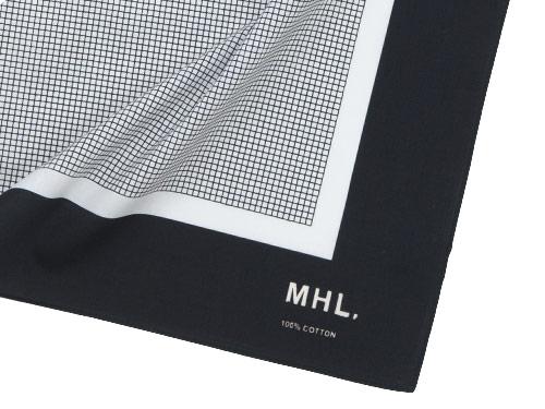 MHL. TINY CHECK SCARF
