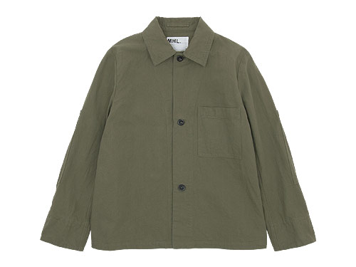 MHL. 3BUTTON JACKET〔メンズ〕
