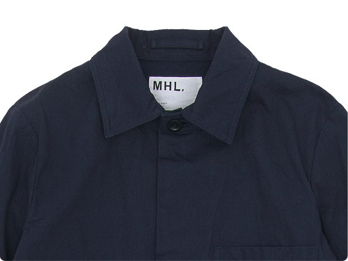 MHL. YARN DYE TWILL 3BUTTON JACKET