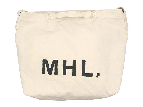 MHL. HEAVY CANVAS SHOULDER BAG