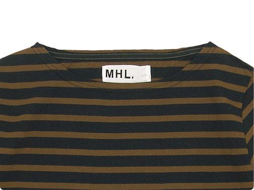 MHL. DRY JERJEY BORDER T-SHIRTS
