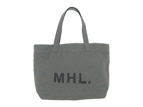 MHL. HEAVY COTTON CANVAS TOTE BAG / SHOULDER BAG