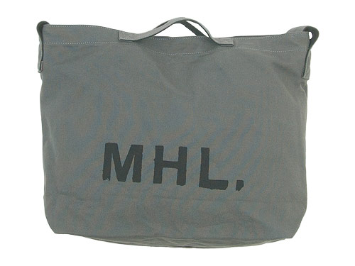 MHL. HEAVY COTTON CANVAS SHOULDER BAG