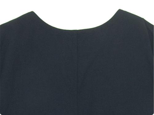 MHL. PLAIN COTTON LINEN PULLOVER DRESS