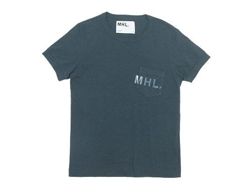 MHL. PRINTED JERSEY LOGO T