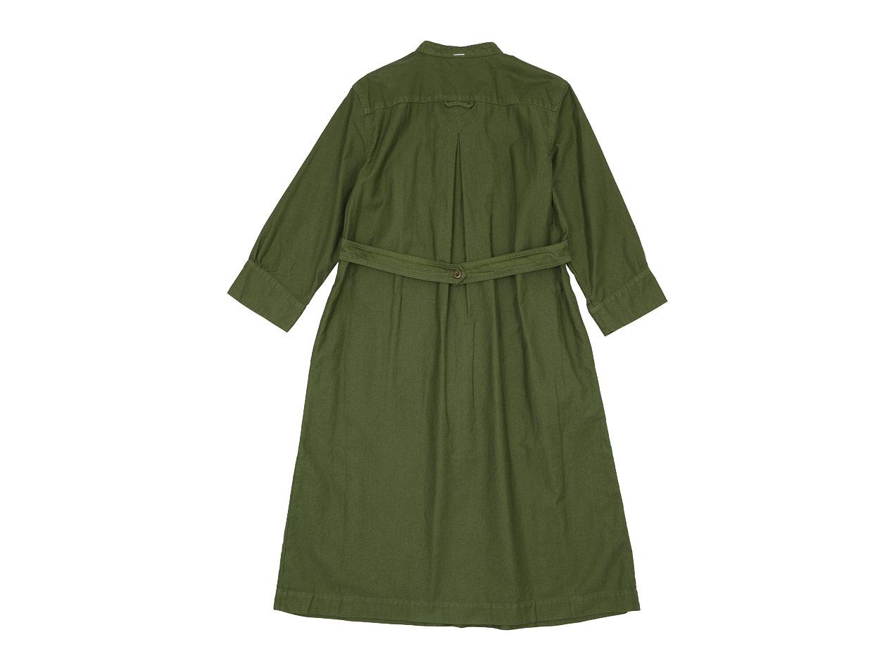 MHL. LIGHT MOLESKIN CHORE DRESS