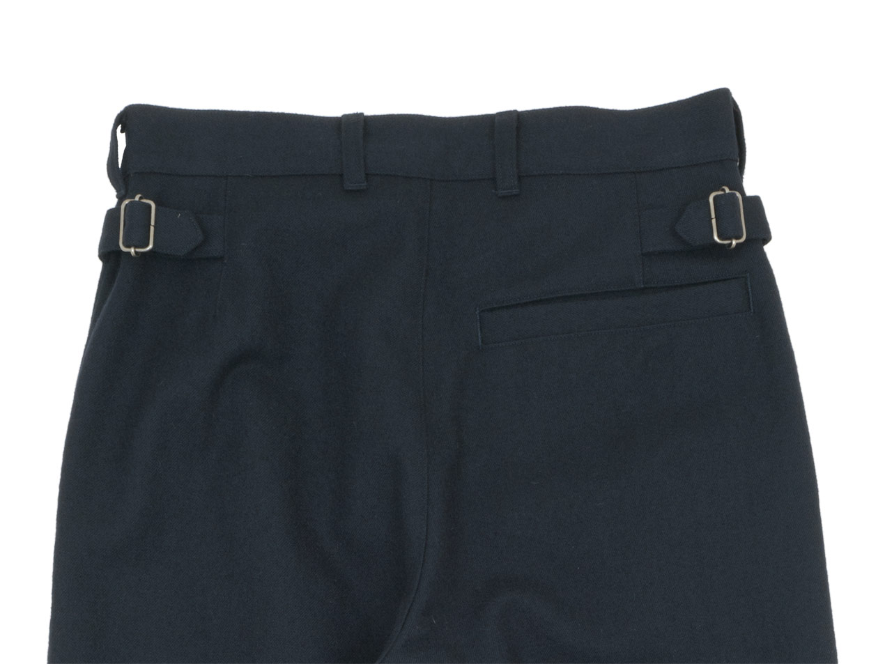 MHL. WOOL COTTON DRILL TROUSERS