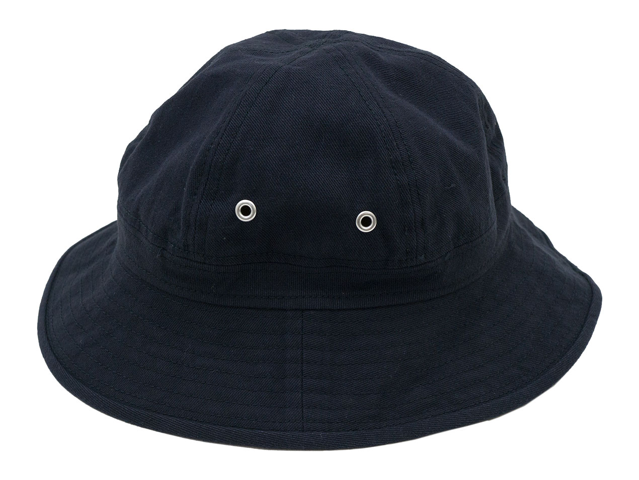 MHL. FADED COTTON TWILL HAT 115BLUE