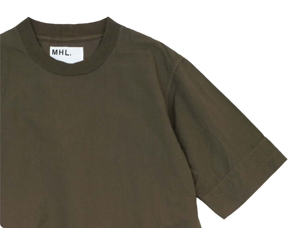 MHL. DRY COTTON LINEN ONE-PIECE