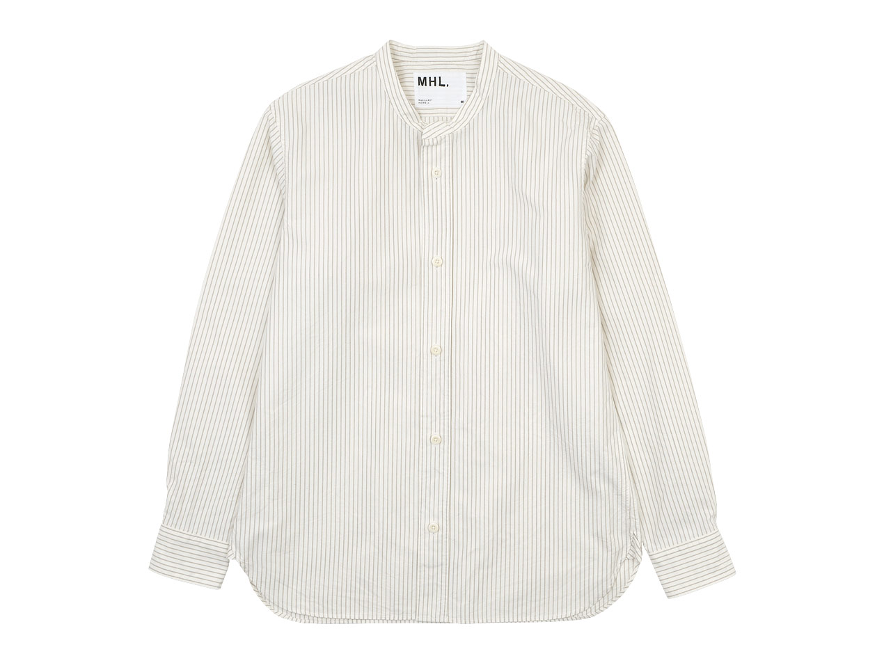 MHL. COMPACT COTTON STRIPE SHIRTS