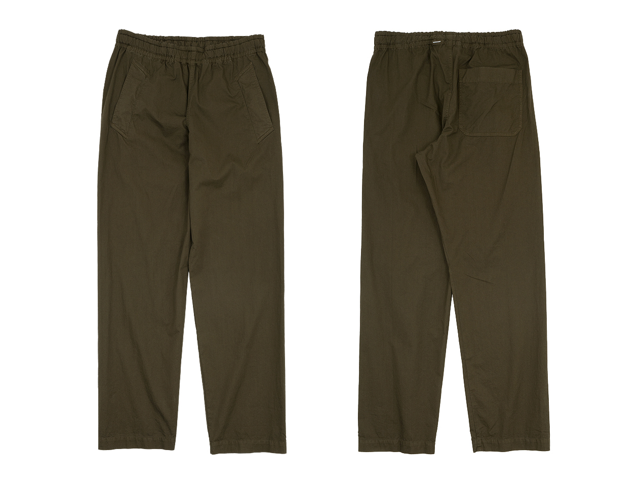 MHL. SUPERFINE COTTON TWILL TROUSERS〔メンズ〕