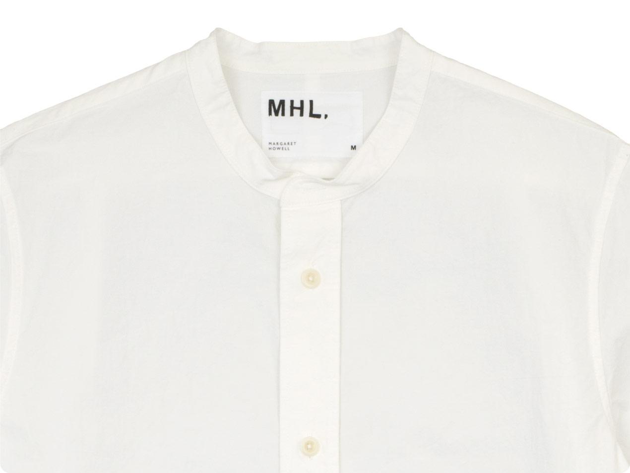 MHL. COTTON LINEN PLAIN WEAVE SHIRTS