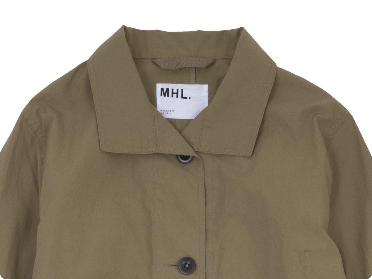 MHL. PROOFED COTTON POPLIN COAT