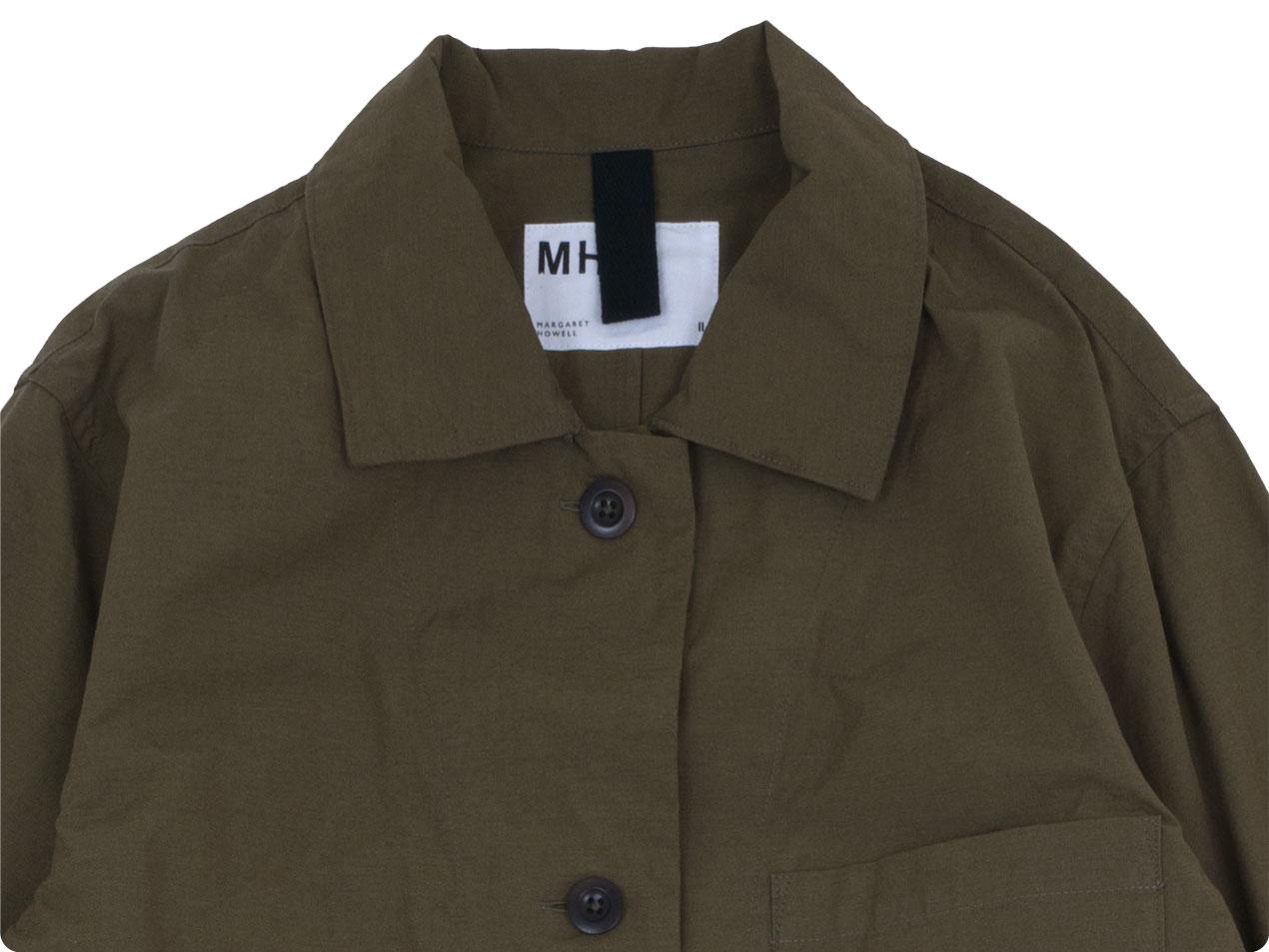 MHL. OVERDYE MELANGE COTTON DRESS
