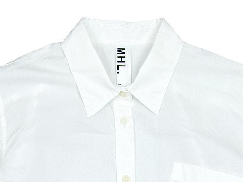 MHL. GARMENT DYE POPLIN SHIRTS