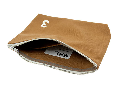 MHL. HEAVY CANVAS POUCH