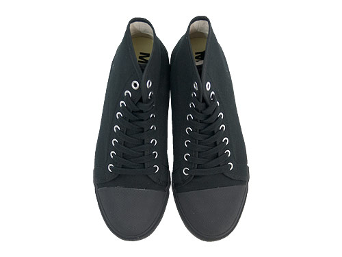 MHL. COTTON CANVAS HI-CUT SHOES