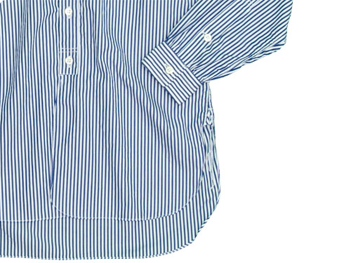 ohh!nisica オオニシカボタンダウンシャツ ストライプ
