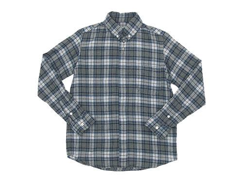 nisica チェックシャツ / ohh!nisica ウールベスト / ベイカーパンツ