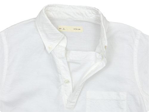 nisica プルオーバーシャツ 半袖