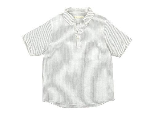 nisica 半袖プルオーバーシャツ / デッキマンシャツ 半袖