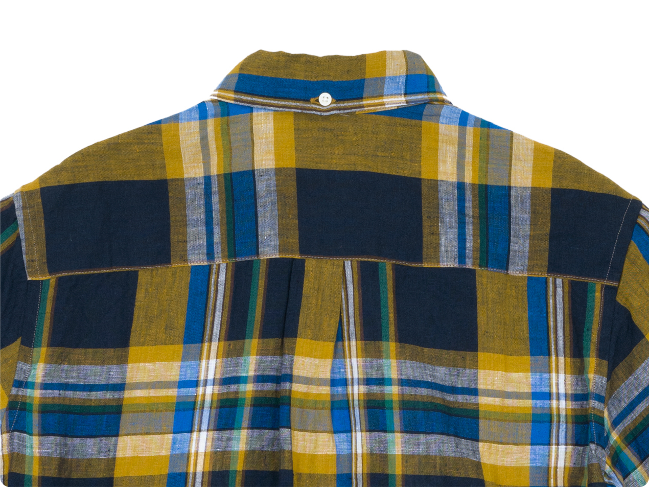 nisica ボタンダウンシャツ 半袖 チェック