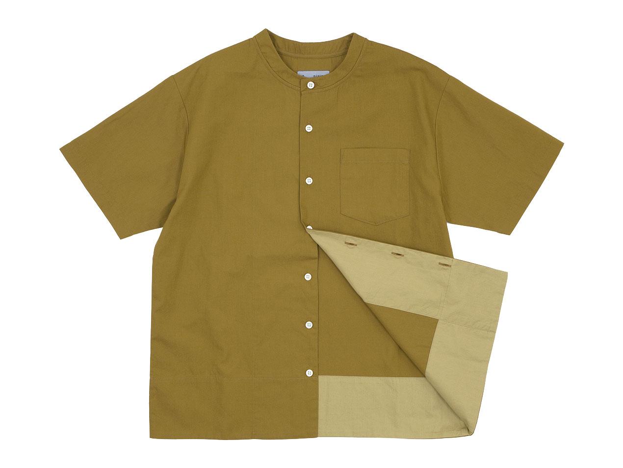 nisica ベスボールシャツ 半袖