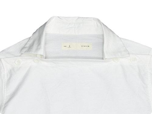 nisica デッキマンシャツ 長袖