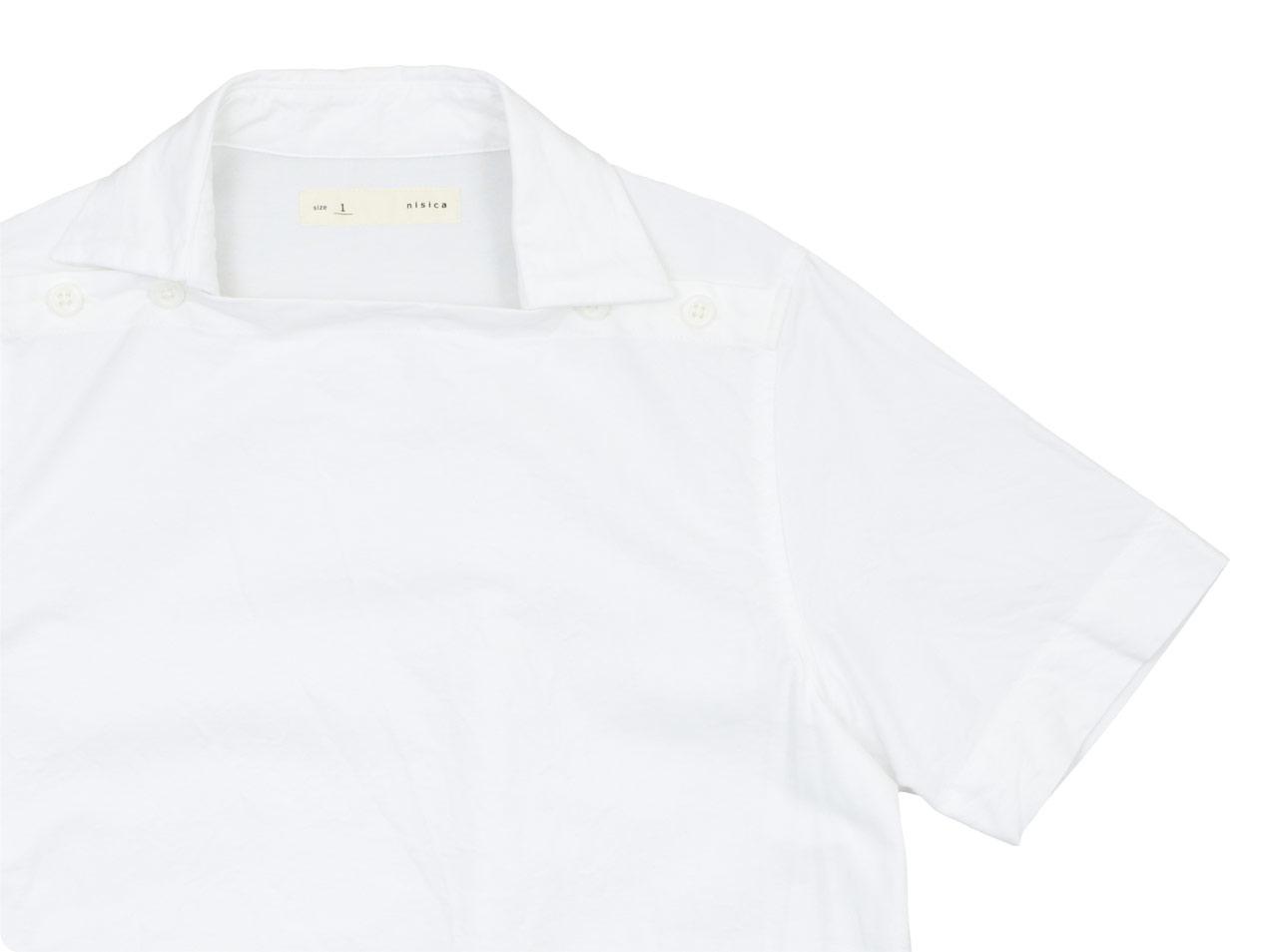 nisica デッキマンシャツ 半袖