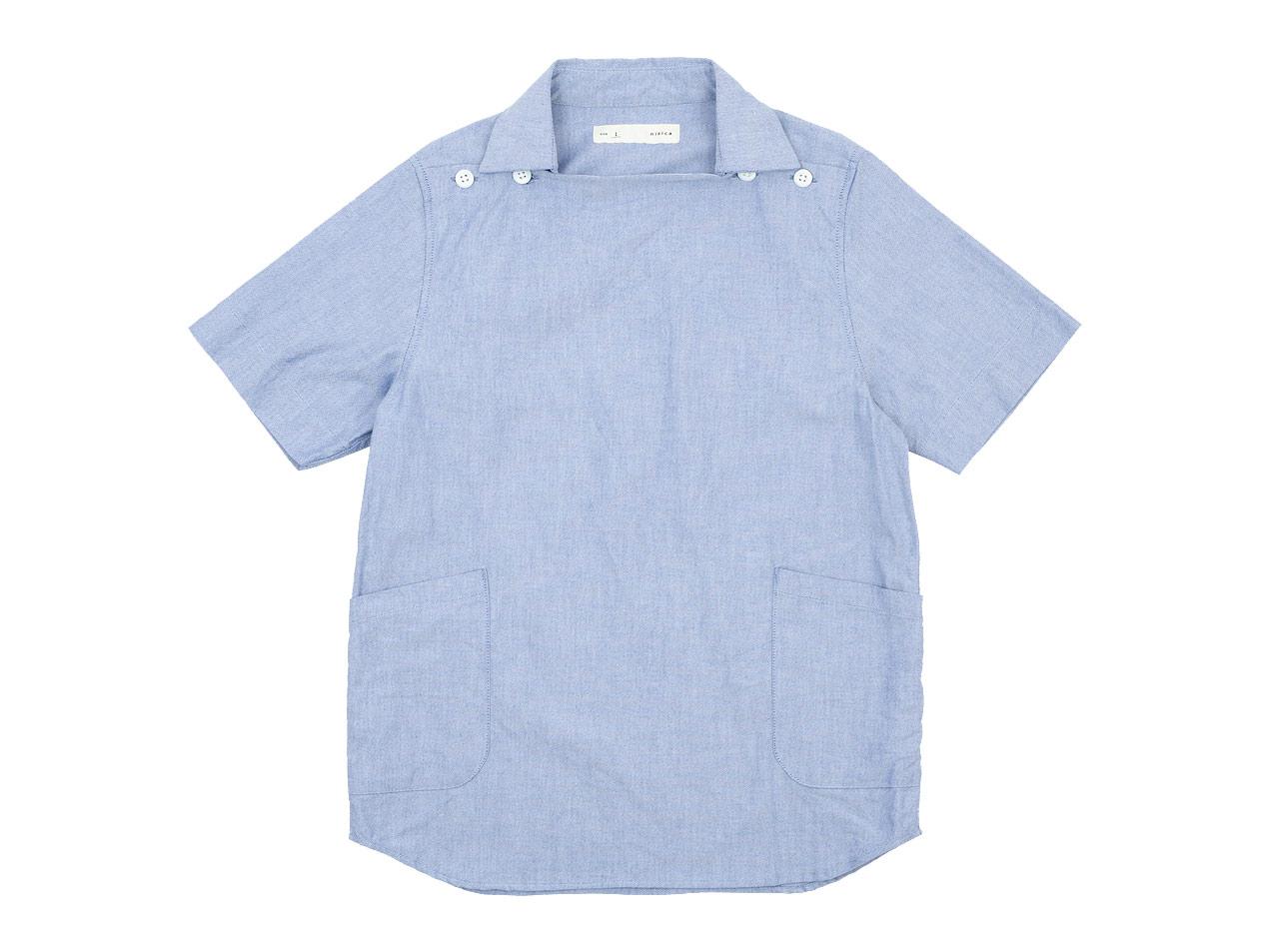 nisica 半袖デッキマンシャツ オックス