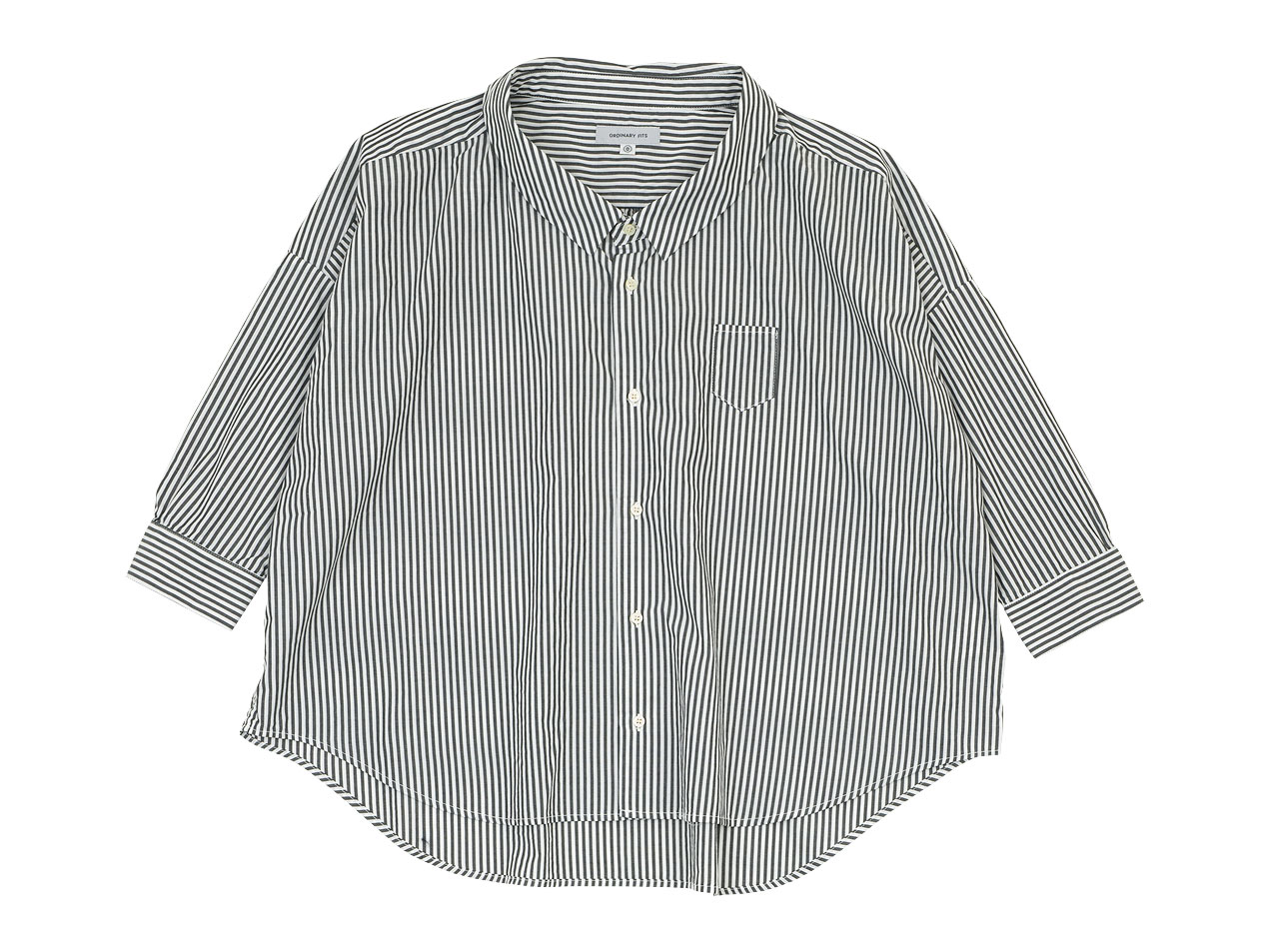 ordinary fits BARBER SHIRT / EDWARD STAND ONEPIECE