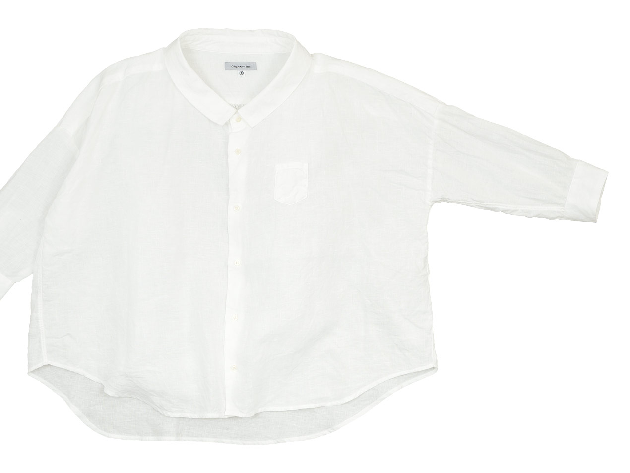 ordinary fits LINEN BARBER SHIRT
